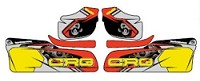 CRG Side Pod Sticker Set 2018