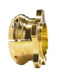 CRG Rear Brake Disc Hub Aluminum R-Line Gold 50mm