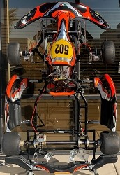 Used Rok Rio CRG Road Rebel KZ Chassis