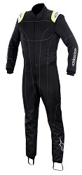 Alpinestars KMX-1 Kart Suit 2015- Black/Yellow/Fluo Size 44