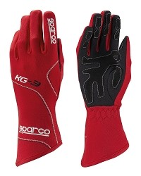 Sparco Blizzard KG-3 Gloves Red Size 6