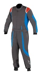 Alpinestars KMX-9 Youth 120 Suit 2018 - Anthracite/Blue/Red/Fluo