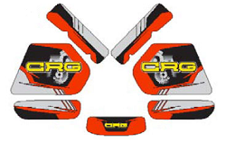 CRG Fuel Tank Decal Kits