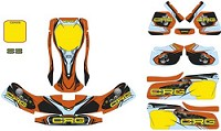 CRG NA3 Sticker Kit GL/OP Complete