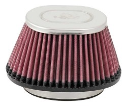 K&N RC-5004 Universal Clamp-On Air Filter