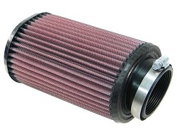 K&N RU-1240 Universal Oval Clamp-On Air Filter