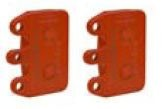 31. CRG Rear Brake Pad Set V11, 14.5mm Orange