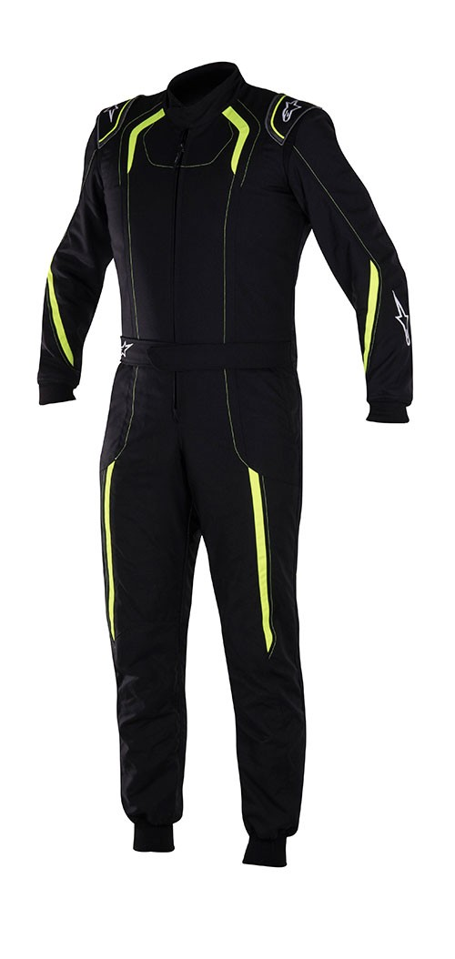 Alpinestars KMX-5 S Youth Suit 2017 - Black/Yellow/Fluo Size 120 Youth